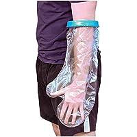 Aidapt–Protector impermeable para yeso o vendaje para la ducha, tamaño corto y ancho para adulto