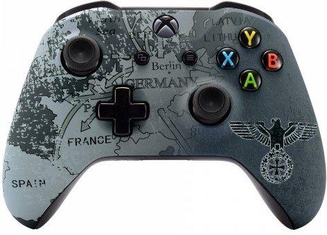 5000+ Modded Xbox One Controller für alle Shooter-Spiele, Soft-Touch-Schale, zusätzlicher Halt für längere Gaming-Sessions, mehrere Farben erhältlich WW2 Eagle