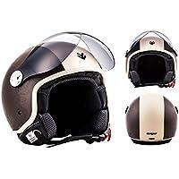 """Armor · AV-84 """"Vintage Brown"""" (brown) · Casco moto Demi"""