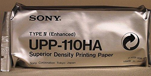 UPP-110HA Caja 10 rollos papel SONY B/N 110mm x 18m