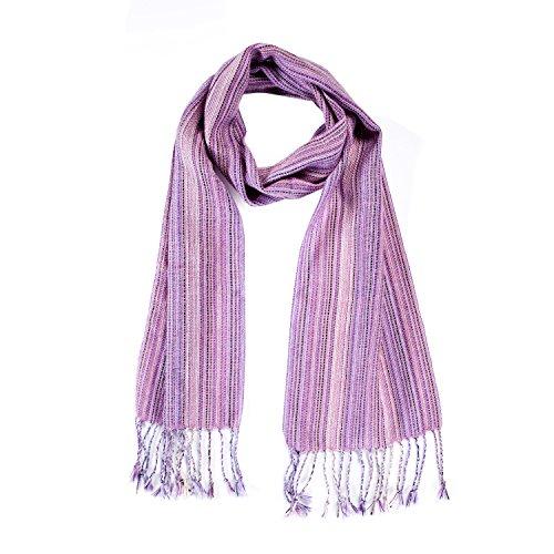 Echarpe de la laine d'alpaga, naturellement teints, pour les hommes et les femmes. Gamme de couleurs disponibles.