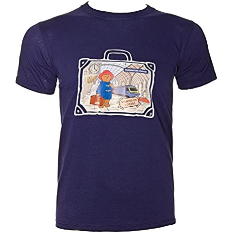 T Shirt Paddington Bear Station (Blu)
