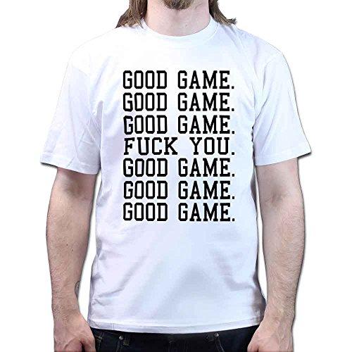 Good Game F**K YOU Good Game Football Basketball Hockey Funny T-shirt Rot