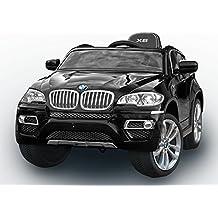 BMW X6 Original licenza, Nero Laccato Luxury, Ruote EVA morbide, 2x Motore, 12 V della Batteria, con 2,4 GHz Telecomando, Macchina bambino, Macchine e Moto elettriche, Veicoli Elettrici, Veicolo