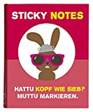 moses 62206 Hattu Häschen Sticky Notes