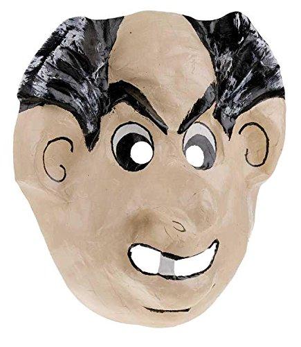 Maske Pappe Gargamel Theatermaske