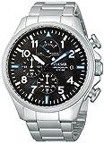 Pulsar Uhren Sport PS6049X1 - Reloj cronógrafo de cuarzo para hombre, correa de Acero inoxidable...