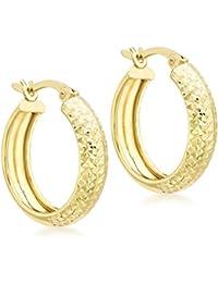 Carissima Gold Pendientes de mujer con oro de 9 K (375/1000), sin gema