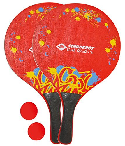 Schildkröt Funsports Wiederverschließbarer Netztasche Beach Ball Set, Mehrfarbig, XL