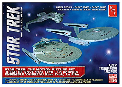 1/2500 Star Trek Cadet Series Motion Picture Era Starship Set (3 Ships)