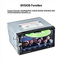 """6,95 schermata """"High-EFINIZIONE digitale 800 * 480, schermo di tocco indietro tasto luce 7 di colore  Supporto del formato audio riproduzione di MP3 / WMA / WAV / FLAC / APP etc Support il formato di riproduzione video di RMVB / RM / DVD / VCD / DIVX..."""