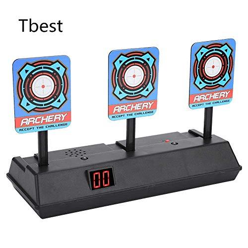 Zielscheibe für Nerf,Shooting Target Elektrische Ziel Toy Gun Elektrische Punktzahl Ziel Automatische Wiederherstellung Zubehör für Nerf Soft Bullet Gun Spielzeug