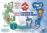 cimspa Lets Keep Schwimmbad Fresh Routine Poster Swim Pool Anleitung