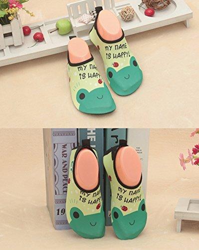 BEKILOLE , Herren Aqua Schuhe C2-Green Frog-kids