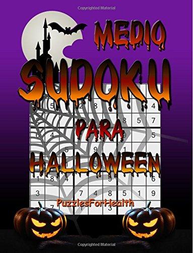 Sudoku para Halloween (Medio) por PuzzlesForHealth