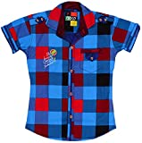 POGO Boys' Cotton Shirt (POGO12 _ 1-2 Ye...