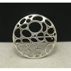 Brosche aus 925 Sterling Silber Kreis A000009 Empress
