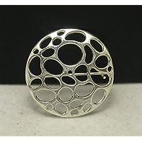 Spilla in argento 925 Cerchio A000009