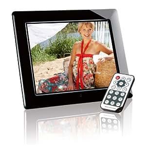 Intenso Mediacreator Digitaler Bilderrahmen 25,4 cm (10 Zoll) Display, SD Kartenslot, Video-Function, Fernbedienung) schwarz