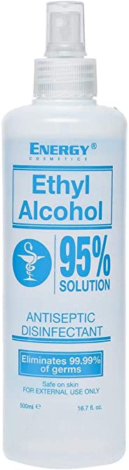 Energy Cosmetics Ethyl Alcohol – 500 ML