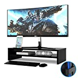 1home Wood Monitor Stand TV PC Laptop Computer Screen Riser...