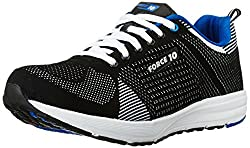 Force 10 (from Liberty) Mens Black Running Shoes - 9.5 UK/India (44 EU)