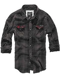 brandit Check Camiseta Duncan–Camisa para hombre