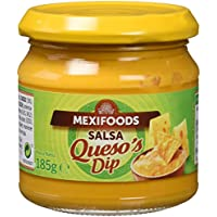 Mexifoods Salsa Queso - 6 Paquetes de 185 gr - Total: 1110 gr