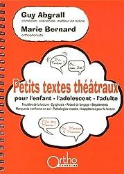 Petits textes théâtraux pour l'enfant, l'adolescent, l'adulte (1Cédérom)