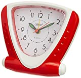 Orpat Beep Alarm Clock (Red and White, T...