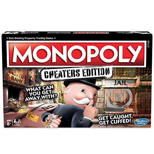 Monopoly Cheaters Edition, Brettspiel, englische Version -