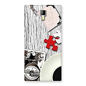 Delighted Vintage Style Multicolor Back Case Cover for Micromax Canvas Xpress A99