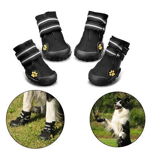 RoyalCare Zapatos para Perros, Botas De Nieve Resistentes Al Agua Y Calientes....