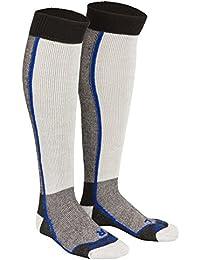 Tobeni 2 paires de chaussettes de premiers Thermolite pour les hommes et les femmes