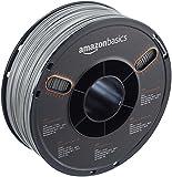 AmazonBasics - Filamento de ABS para impresora 3D, 1,75mm, Gris, bobina de 1kg