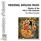 The Hilliard Ensemble: Medieval English Music (Audio CD)