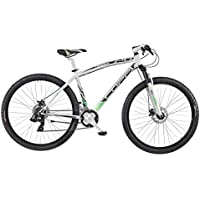 COPPI 29'/29er Pollici Mountain Bike MTB Dischi Freno Hardtail apos; Reaction '21della Gang, Bianco-Verde