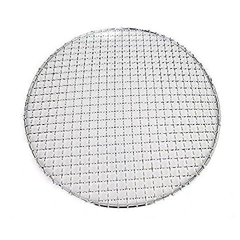 fittoway multi-usage Croix fil rond rond en acier inoxydable cuisson à la vapeur de refroidissement pour barbecue/grills/Poêle grille de cuisson/carbone Net (diameter-11.5pouces)