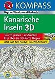 Kanarische Inseln 3D: Digitale Wander- und Radkarte (KOMPASS Digitale Karten, Band 4251) -