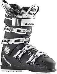 Rossignol Pure Pro 80 - Botas de esquí para mujer, color negro / blanco