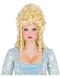 Fun World FW92580 Saucy Marie Wig Long Side Curls High Fluffy Curl Top