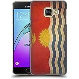 Head Case Designs Kiribati Kiribatian Drapeaux D'époque 5 Étui Coque D'Arrière Rigide Pour Samsung Galaxy A3 (2016)