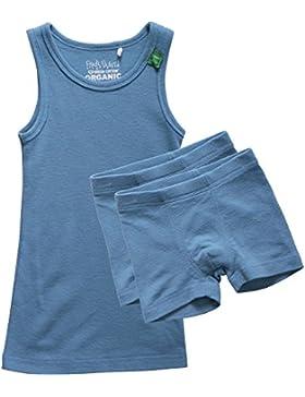 Fred's World by Green Cotton Jungen Thermounterwäsche-Set Wool Underwear Boy