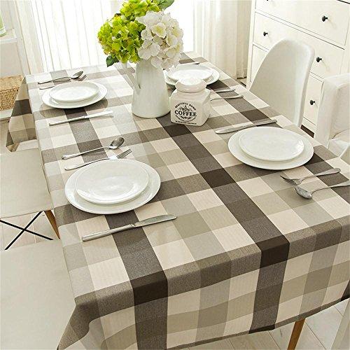TOYM- Mantel de estilo mediterráneo para niños Tela rectangular de lino de...