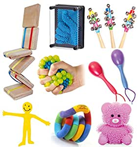 Large Sensory Toy Kit - Kids Special Needs Autism Autism ...