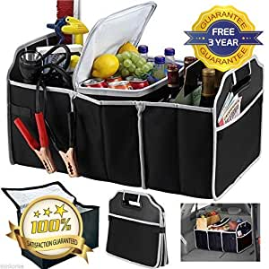 collapsible car boot tidy trunk organiser free 3 year. Black Bedroom Furniture Sets. Home Design Ideas