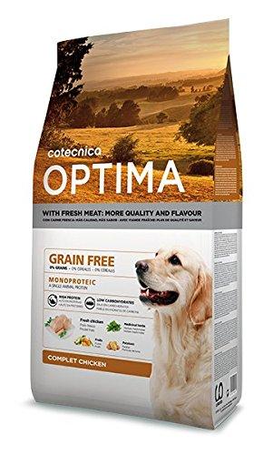 14kg Optima Grain Free Chicken Hundefutter Huhn getreidefrei