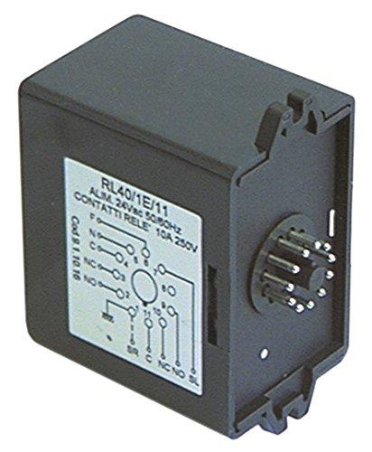 Niveaurelais RL40/1E/11 11-polig für Espressomaschine 24V AC 50/60Hz 10A