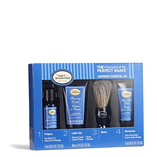the-art-of-shaving-starter-kit-lavender-pre-shave-oil-shaving-cream-brush-after-shave-balm-4pcs