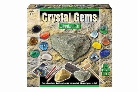 Dig Out Sac avec gemme Crystal Gem Set Enfant Toys-Neuf